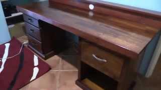 Office Computer Desk Build  Part 4