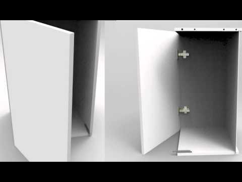 Система открывания дверей и ящиков без ручек   Impuls