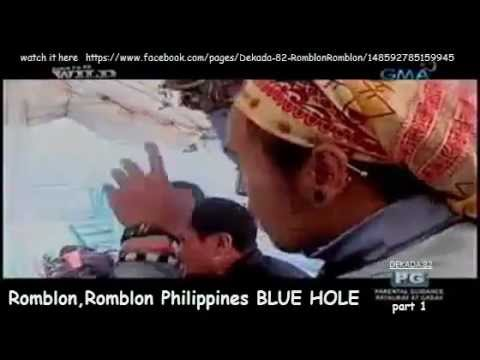 Romblon,Romblon Philippines BLUE HOLE part 1