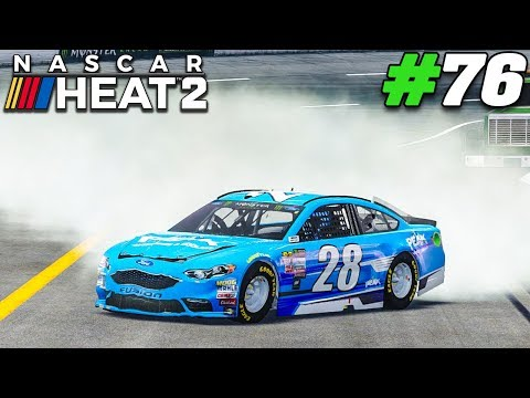 Choke Artist! |#76| NASCAR Heat 2 Career