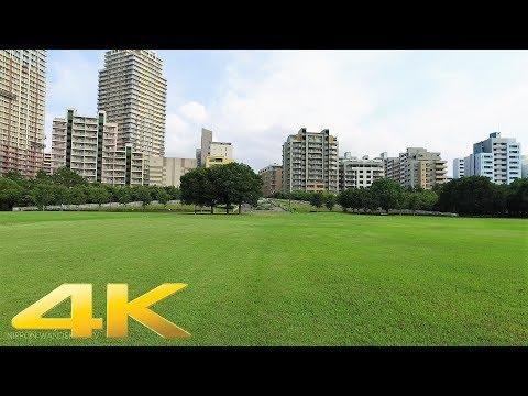 Walking around Kaihin makuhari, Chiba pref. Part1 - Long Take【千葉・海浜幕張】 4K