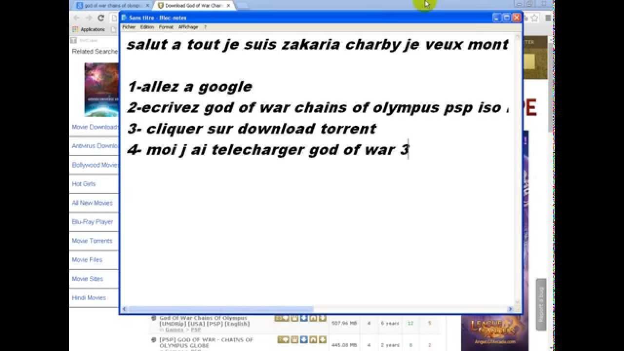 god of war 3 pc gratuit clubic