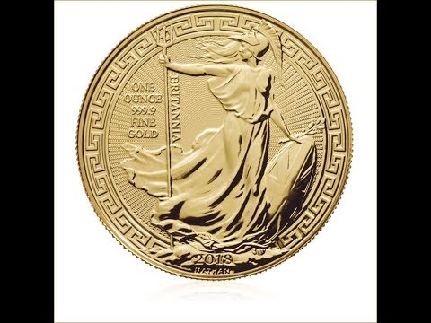 2018 UK Britain British Royal Mint 1 oz Gold Britannia bullion Oriental Border coin review