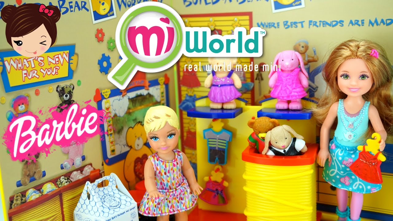 Jugueteria Miniatura Para Muecas Barbie Mi World Build