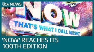 Now That's What I Call Music! reaches its 100th milestone | ITV News
