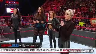 Alexa Bliss reveals the Raw Womens Survivor Series Team