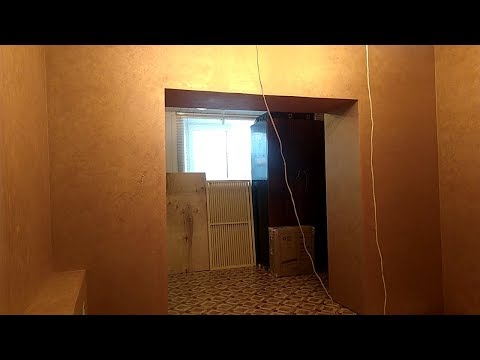 Бюджетный, простой и быстрый способ отделки стен в квартире декоративным покрытием в один слой
