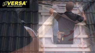 Montaż wyłazu dachowego VERSA WVD+