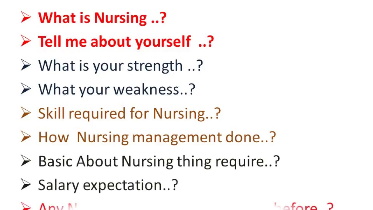 nursing interview questions and answers in india - Nursing Interview Questions And Answers