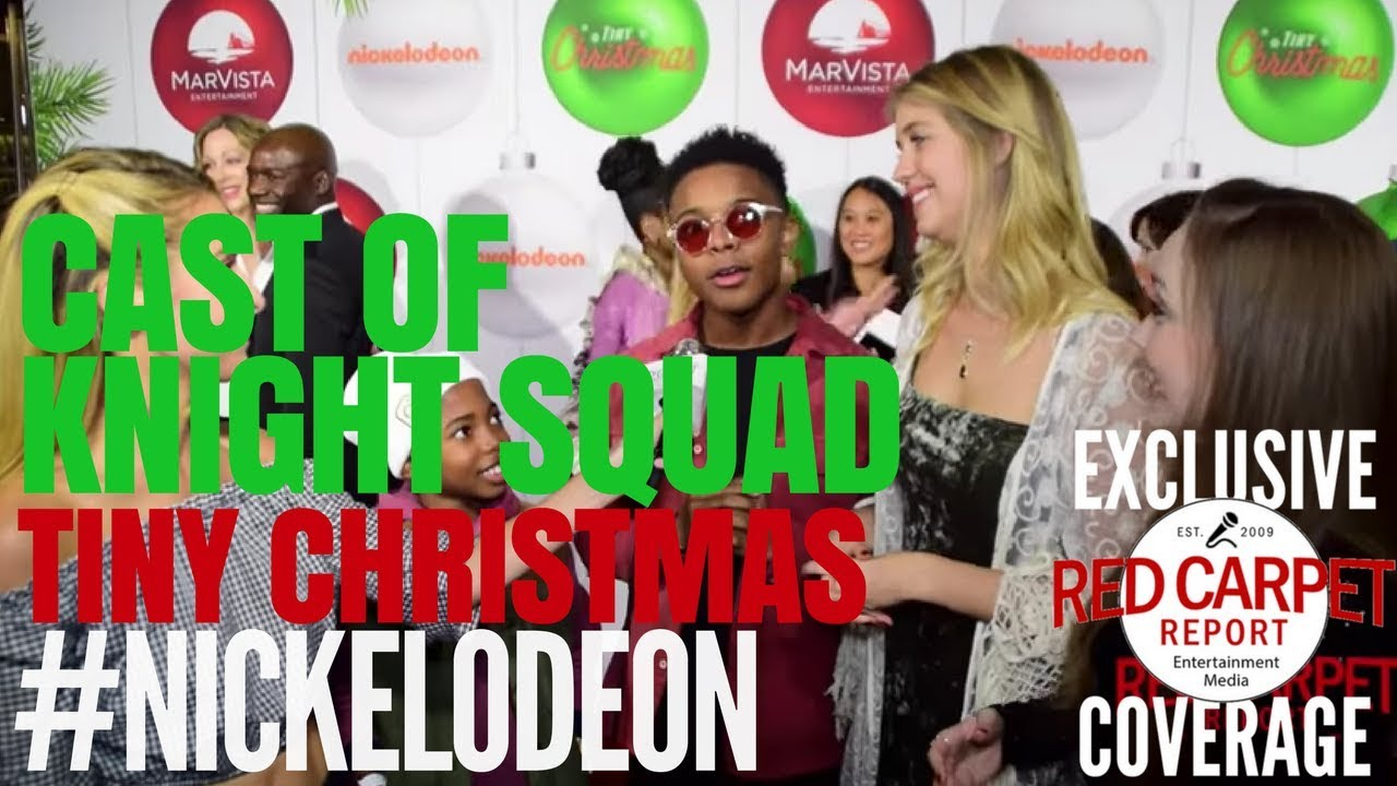 """Download Cast of Knight Squad interviewed at Nickelodeon's """"Tiny Christmas"""" Screening Event"""