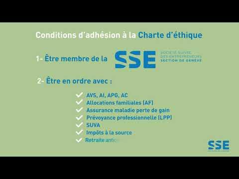 La Charte d'éthique de la SSE Genève