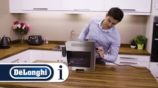 How to set up your De'Longhi PrimaDonna S Evo ECAM 510.55.M for the first time