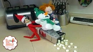 Worst Elf On The Shelf Ideas Ever! #3