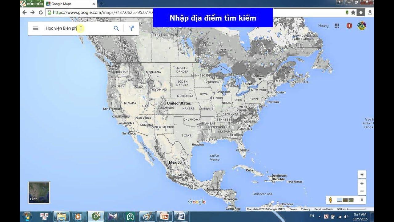 Cách chụp bản đồ từ google map