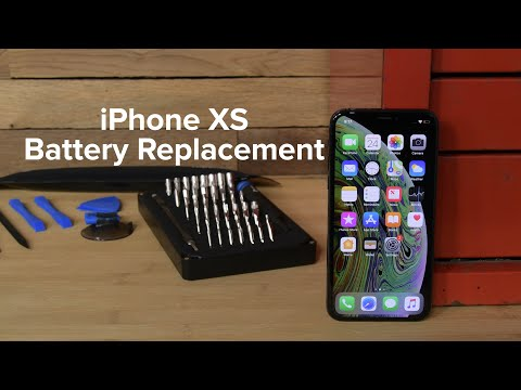 IPhone XS Battery Replacement - How To
