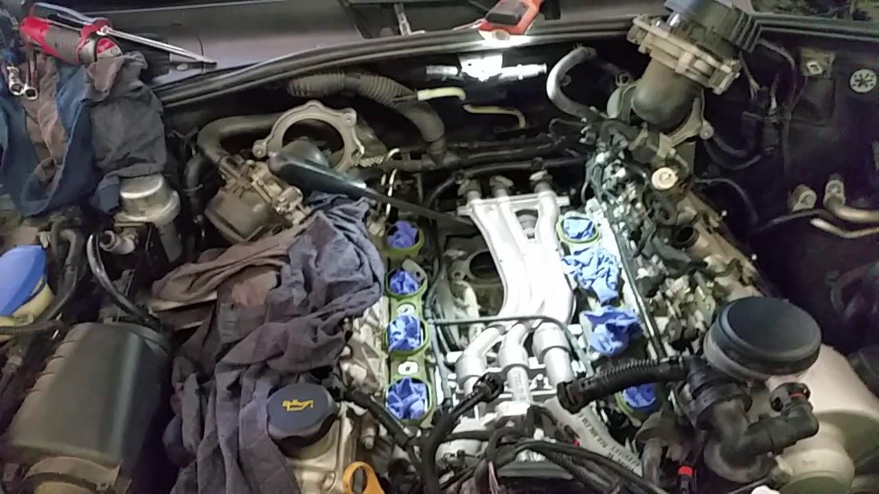 Porsche Cayenne Turbo 45L V8 Starter motor replacement  YouTube