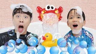 AYO KITA MANDI Lagu Anak Lagu | Bath Song Nursery Rhymes for kids 마슈의 신나는 목욕놀이 마슈토이 Mashu ToysReview