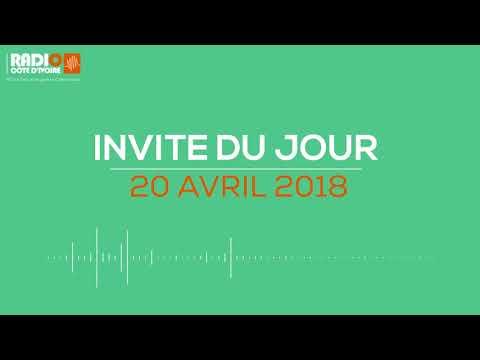 ''Linvité du jour'' du 20 avril 2018-Radio Côte d 'Ivoire