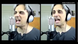 How to sing a Cover of Ticket to Ride Beatles Vocal Harmony