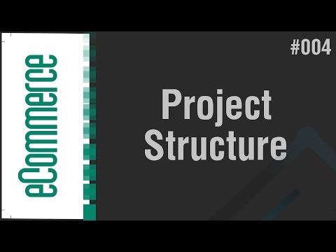 eCommerce Shop in Arabic #004 - Create Project Structure