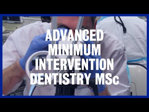 Advanced Minimum Intervention Dentistry MSc at King's College London