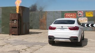 DRIVING AROUND A MAZE ON THE TOP GEAR TRACK - Shell V-Power Nitro+ BMW Driving Challenge