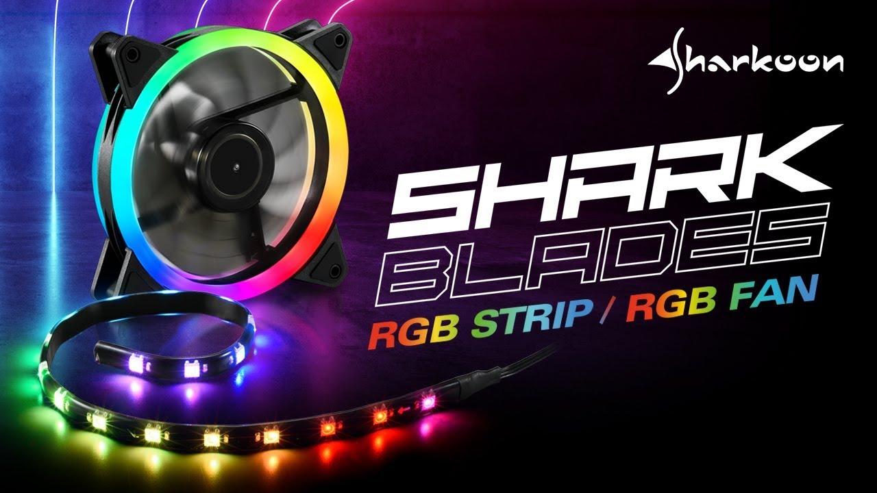 Sharkoon Shark Blades RGB Fan