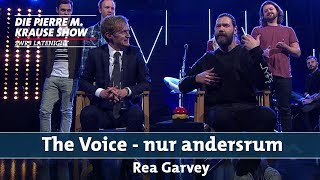 """The Voice – nur andersrum"" mit Rea Garvey"