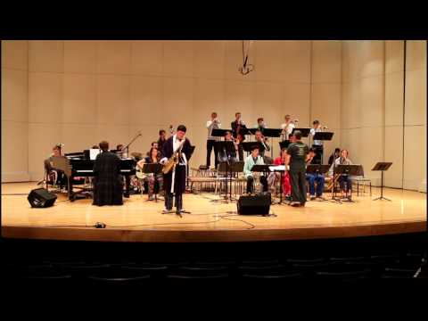 Roosevelt High School Jazz performing at the 2017 Reno Jazz Festival
