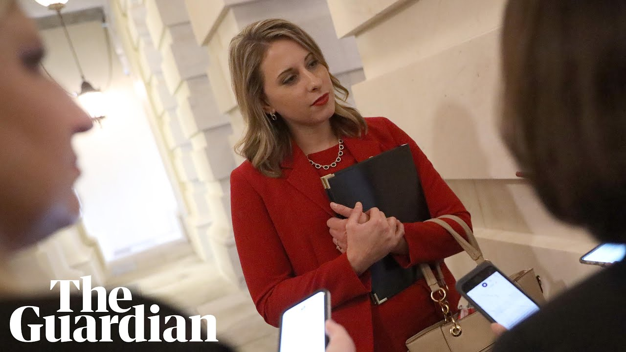 Katie Hill photos: California congresswoman delivers final speech ...