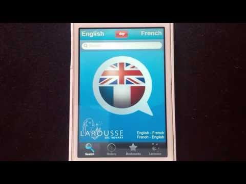 French Language Resources | Larousse English-French Dictionary App