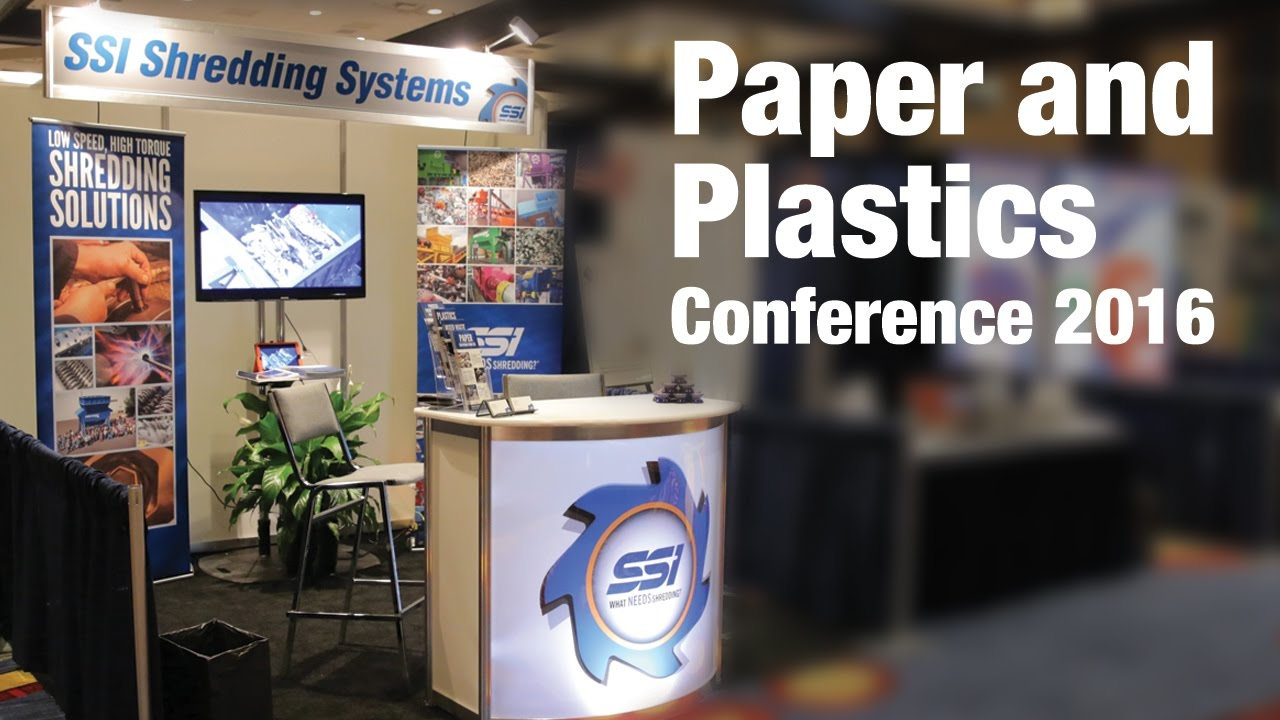 SSI @ The Paper and Plastics Recycling Conference 2016