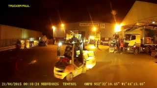 40 night trucking uk just another crazy drop trucker paul uk