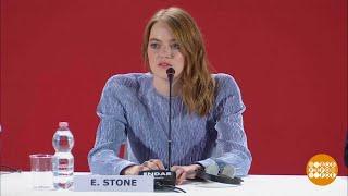 Эмма Стоун и Райан Гослинг: пара из «Ла-ла Ленда» снова в Венеции, но не вместе.
