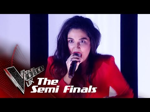 Lauren Bannon Performs 'In The Air Tonight': The Semifinals | The Voice UK 2018