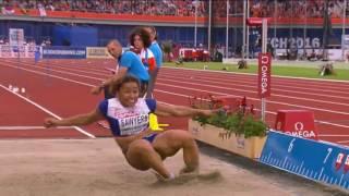 Анна Касьянова. Чемпионат Европы по легкой атлетике-2016. Многоборье 200 м