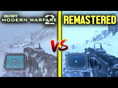 Modern Warfare 2 Remastered VS Modern Warfare 2 — Graphics Comparison (PS4 Pro Vs PS3)