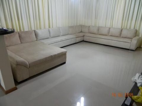 Sof de canto com chaise long casal youtube for Chaise long sofa