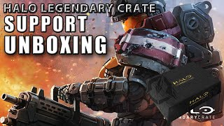 Unboxing - Halo Legendary Crate: Support