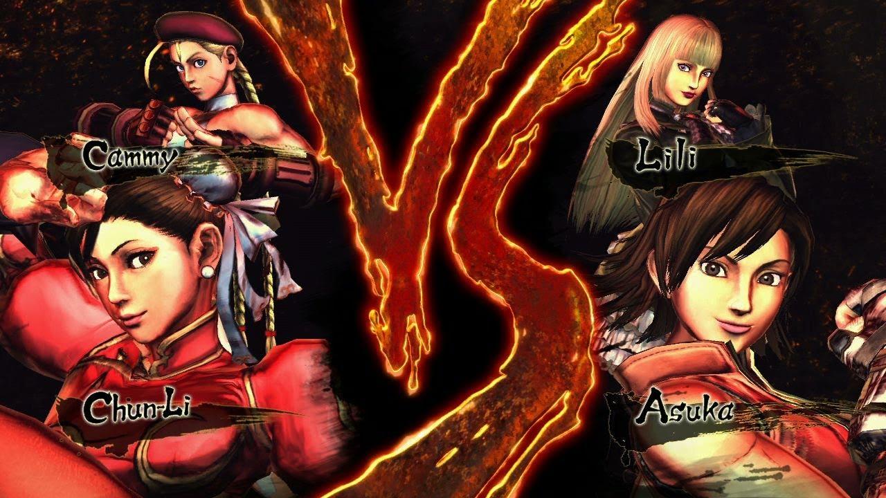 [PC] Street Fighter X Tekken - Playthrough as Xiaoyus