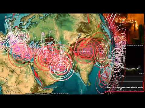 12/23/2017 -- North Pole Earthquake -- Tis the season for an earthquake plan -- Unrest spreading