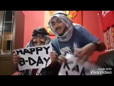 Arab happy birthday