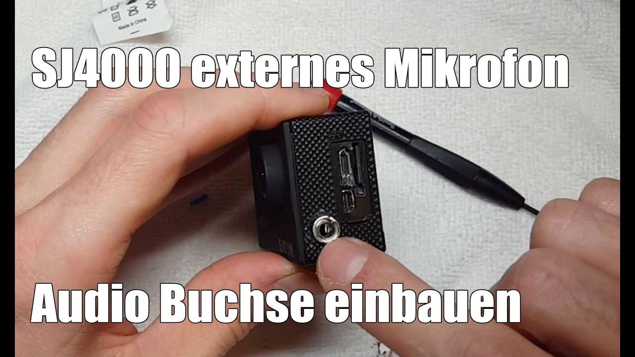 sj4000 externes mikrofon audiobuchse 3 5mm klinke einbauen. Black Bedroom Furniture Sets. Home Design Ideas