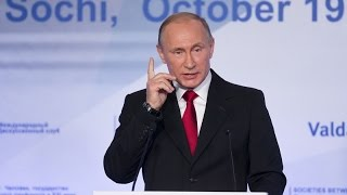 Putin at Valdai Forum 2015 - World between War and Peace (FULL SPEECH)