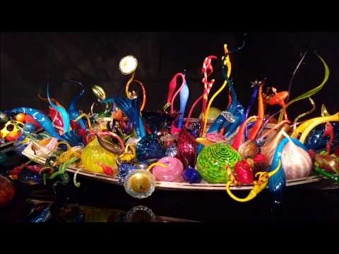 Canada EUA 2018 Chihuly Garden and Glass
