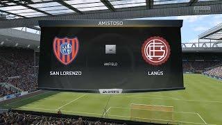FIFA 15 Demo PC Gameplay | San Lorenzo vs Lanús | Leyenda 720p