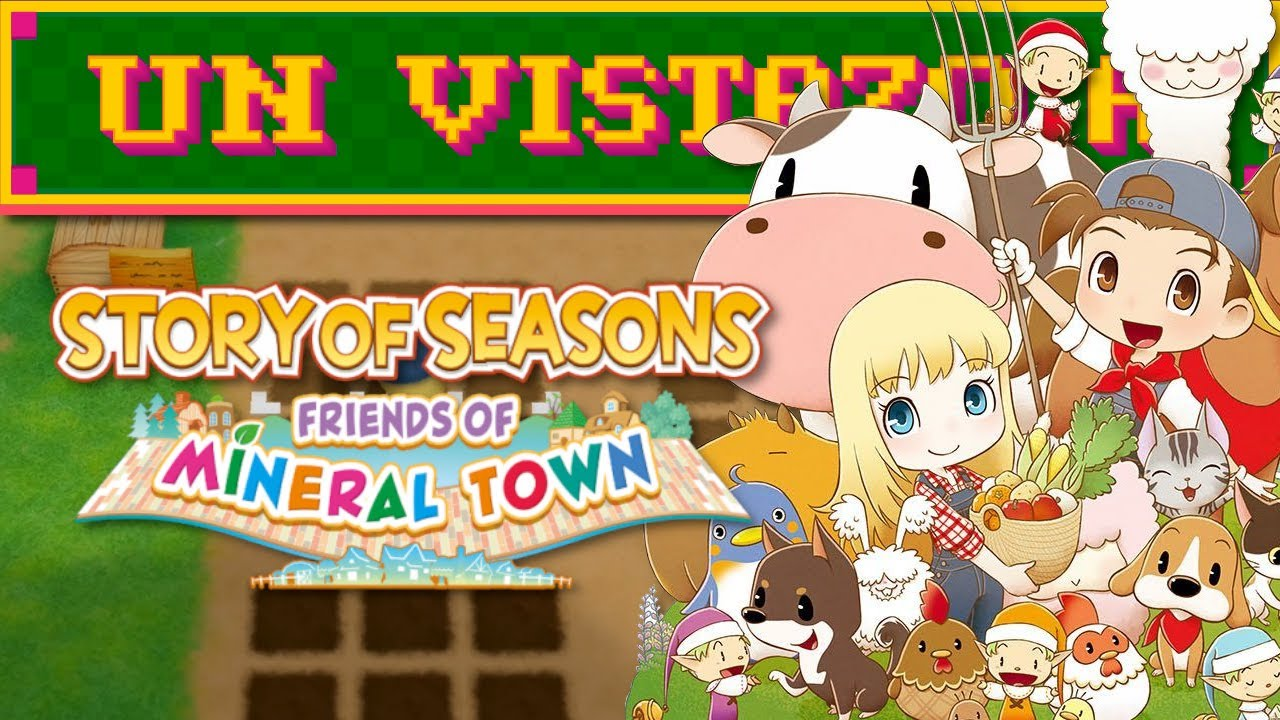 Un vistazo a Story of Seasons Friends of Mineral Town