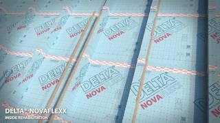 видео Пароизоляция DELTA-LUXX для мансард