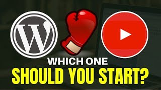 Starting A Blog VS YouTube Channel | Which One Should You Start