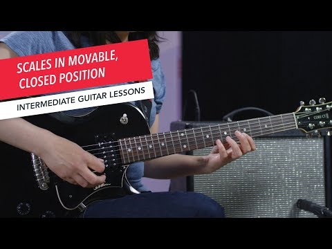 How to Play Guitar: Playing Scales in Movable Closed Position   Intermediate   Guitar Lessons